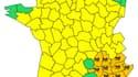 La Corse, la Provence Alpes Côte d'Azur, l'Ardèche (07), la Drôme (26) et le Gard (30) placés en vigilance Orange par Météo France