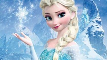 """Elsa, l'une des héroïnes de """"La reine des neiges"""", plus gros succès de Disney."""