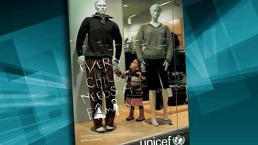 Une campagne de l'Unicef datant de 2006.