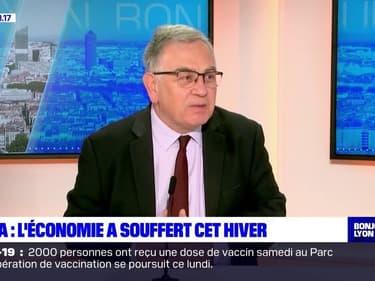 """Auvergne-Rhône-Alpes: Jean-Philippe Grouthier, directeur régional de l'Insee, met en garde contre une """"poussée des défaillances"""" d'entreprises"""