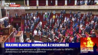 L'Assemblée nationale observe une minute de silence en hommage à Maxime Blasco, tué au Mali