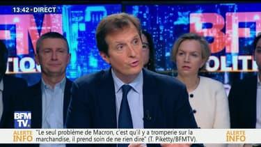 """Questions d'éco: """"Les principes du programme économique de François Fillon sont très clairs et définitifs"""", Jérôme Chartier"""