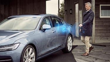 La voiture sans clef de Volvo fonctionne avec une clef numérique.