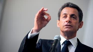 Nicolas Sarkozy entame ce mercredi une visite d'Etat en Chine destinée à sceller la réconciliation entre Paris et Pékin, que le nucléaire iranien, les questions monétaires et l'environnement ne devraient pas mettre en danger. /Photo prise le 22 avril 2010