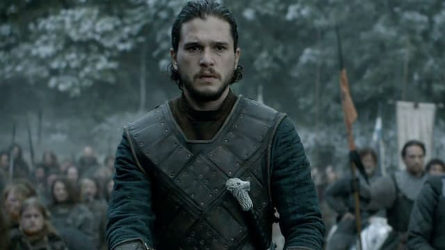 "Kit Harington incarne Jon Snow dans ""Game of Thrones"""