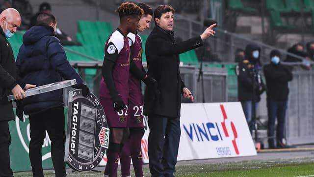 Pochettino et le PSG face à Saint-Etienne