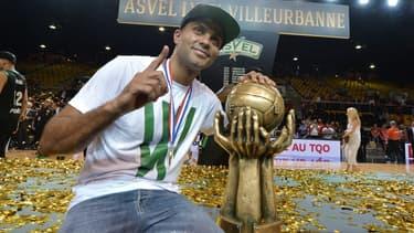 Tony Parker, président de l'ASVEL championne de France en titre
