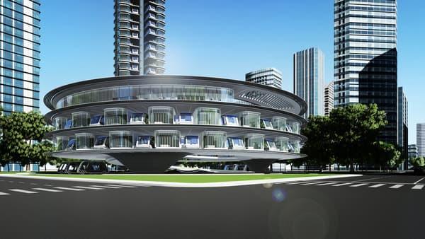 """Hôtel dédié du concept """"Autonomous Travel Suite"""""""
