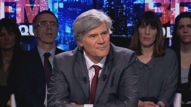 Le porte-parole du gouvernement Stéphane Le Foll était l'invité de BFM politique dimanche soir.
