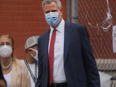 Bill de Blasio, maire de New York