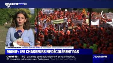 Chasse: entre 8000 et 10000 manifestants à Forcalquier, dans les Alpes-de-Haute-Provence, selon les organisateurs