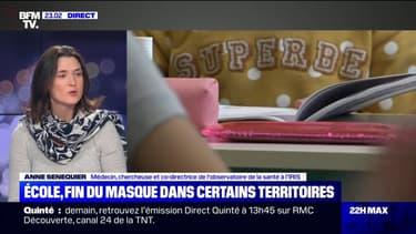 """Pour la Dr Anne Sénéquier, la fin du masque à l'école dans certains départements """"est une bonne chose"""""""