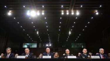 Les représentants du FBI, de la CIA, des services de renseignements militaires, de la NSA, de l'agence de renseignements Geospatial ont fait part de leurs craintes sur Huawei à une commission du sénat.