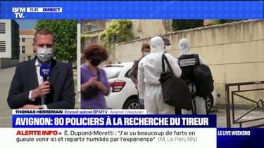 Policier tué à Avignon: le tireur toujours en fuite, 80 policiers à sa recherche