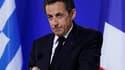 La cote de Nicolas Sarkozy remonte de trois points, 38% des Français se déclarant satisfaits de l'action du chef de l'Etat, dans un sondage Viavoice pour Libération diffusé ce lundi. /Photo prise le 8 mai 2010/REUTERS/Yves Herman