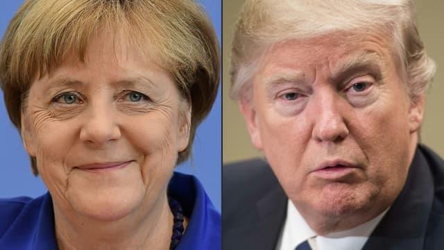 Angela Merkel et Donald Trump se rencontreront finalement le 17 mars.