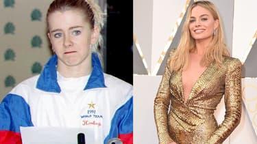 Tonya Harding en janvier 1994 / Margot Robbie