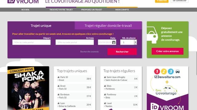 Idvroom est né de la fusion des sites 123envoiture.com et easycovoiturage.com, tous deux rachetés par la SNCF.