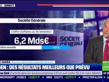 Frédéric Oudéa (Société Générale) : Société Général, des résultats meilleurs que prévu - 06/05