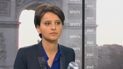 Najat Vallaud-Belkacem, porte-parole du gouvernement.