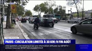 La vitesse maximale sera limitée à 30 km/h à Paris dès le 30 août