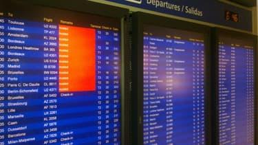 A l'aéroport de Lyon Saint-Exupéry, on prévoit 70 % des vols assurés...