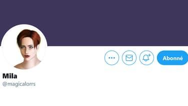 Capture d'écran du compte Twitter de Mila