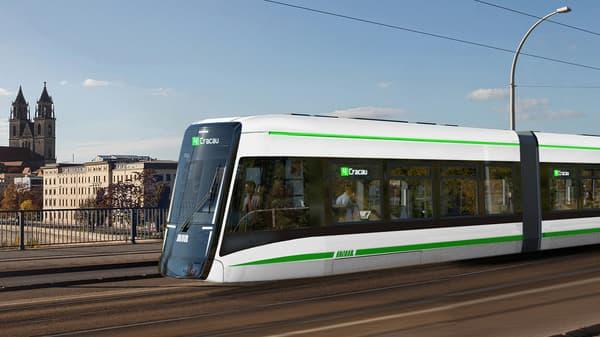 Citades Straßenbahn Tra