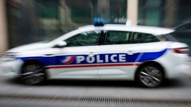 Une voiture de policier (Photo d'illustration)