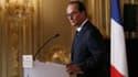 François Hollande lors de sa conférence de presse du 18 septembre 2014.