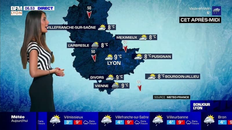 Météo à Lyon: quelques éclaircies et de la fraîcheur pour ce mercredi
