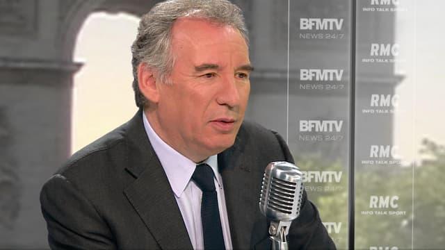 François Bayrou sur BFMTV et RMC jeudi 7 mai.