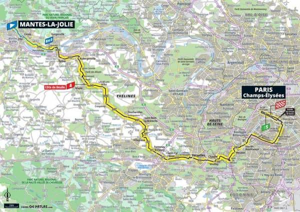 La 21e et dernière étape du 107e Tour de France arrive dimanche à Paris.