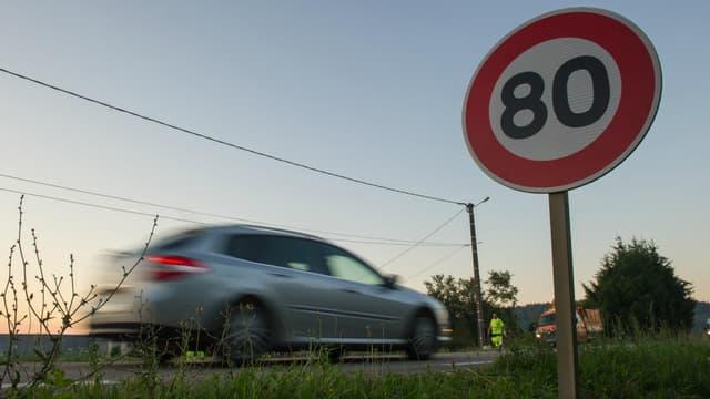 La plupart des routes secondaires passent à 80 km/h le 1er juillet.