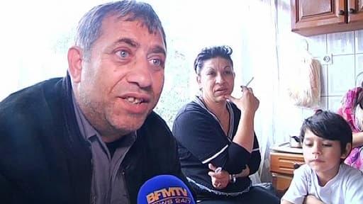 Le père de Leonarda, Reshat Dibrani.