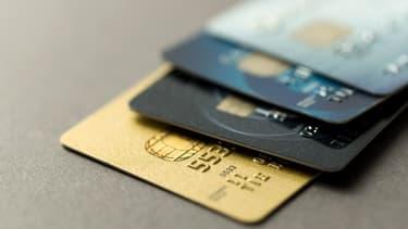 Des cartes bancaires, photo d'illustration.
