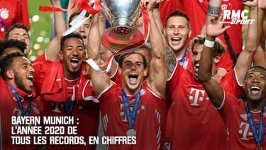 Bayern Munich : L'année 2020 de tous les records, en chiffres