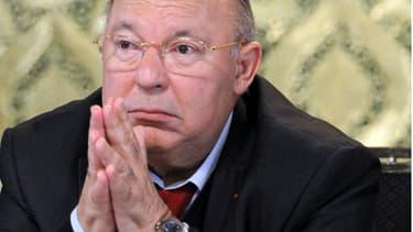 Dalil Boubakeur, président du Conseil français du culte musulman (CFCM)