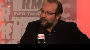 Gérard Dalongeville, ancien maire PS d'Hénin-Beaumont, ce lundi sur RMC