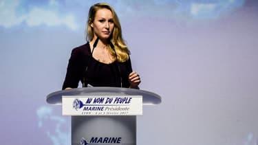 Marion Maréchal-Le Pen lors d'un meeting le 4 février 2017.
