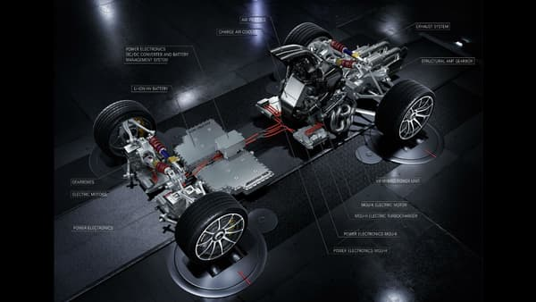 Mercedes-AMG a choisi de mettre un moteur de Formule 1 dans sa nouvelle hypercar.