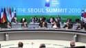 """Les pays du G20 s'apprêtaient vendredi à renvoyer à 2011 l'élaboration d'un cadre """"indicatif"""" d'instruments de mesure des déséquilibres financiers globaux, un délai susceptible de ramener le calme après des échanges très vifs à propos des évolutions de le"""
