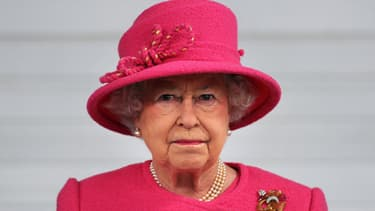 La reine Elizabeth II lors d'une visite à Bristol en Grande-Bretagne le 2 novembre 2012.