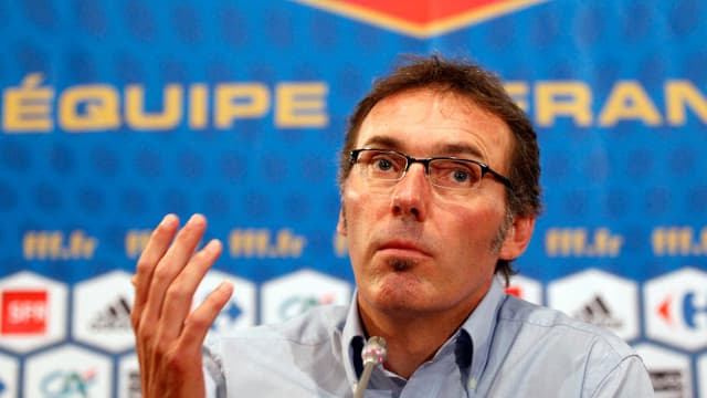 Laurent Blanc, sélectionneur de l'équipe de France