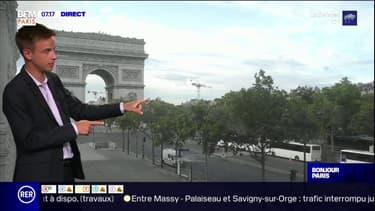 Des nuages et quelques pluies sur l'Ile-de-France ce mardi, seulement 20°C à Paris dans l'après-midi