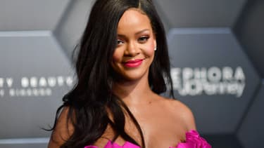 Rihanna à New York le 15 septembre 2018