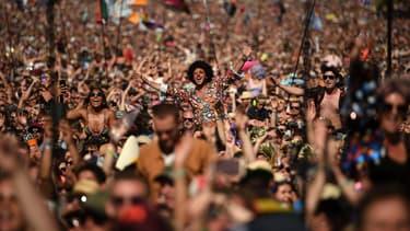Le festival Glastonbury en 2019