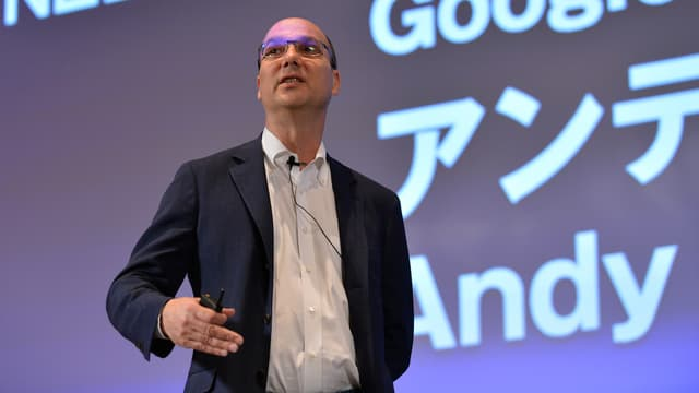 Après Apple et Google, Andy Rubin, créateur d'Android, roule pour lui-même.