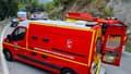 Accident sur la route de Grasse, le lundi 20 septembre