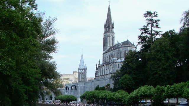 Vue de Lourdes